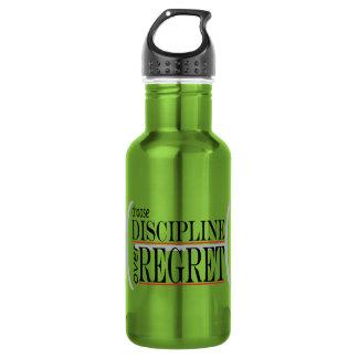 Inspiring Water Bottle Choose Discipline