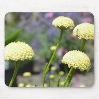 Inspiring Yellow Flowers Mousepads