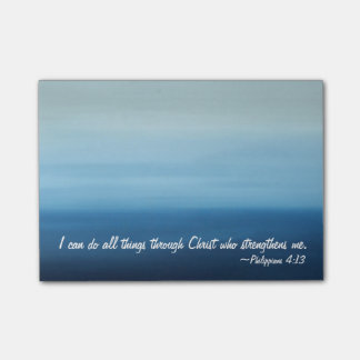 Inspriational Scripture Ocean Post-it Notes