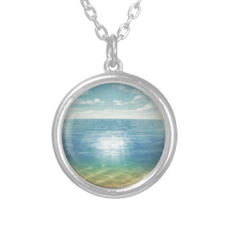 Insta Beach Silver Plated Necklace
