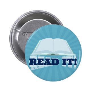 Insta-Book Promotion 2 Inch Round Button