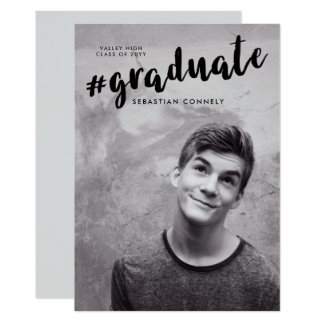 Instagrad Graduation Announcement
