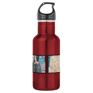 Instagram 4 Photo Aluminum 532 Ml Water Bottle