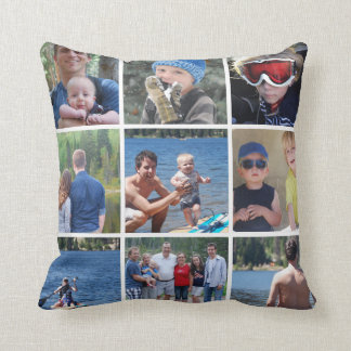 Instagram Custom Wild Home Family Pillow