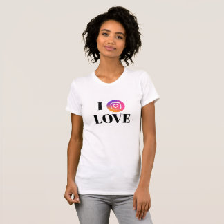 Instagram Fan American Apparel Fine Jersey T-Shirt