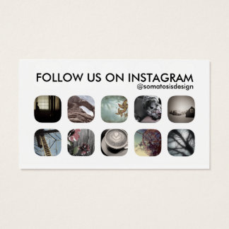 Instagram Business Cards and Business Card Templates