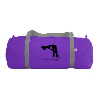 Instagram model Duffle Gym Bag, Purple