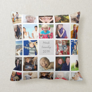 Instagram Modern Stylized Your Photos Throw Pillow