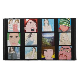 Instagram Mosaic Photo Personal Caseable iPad Case