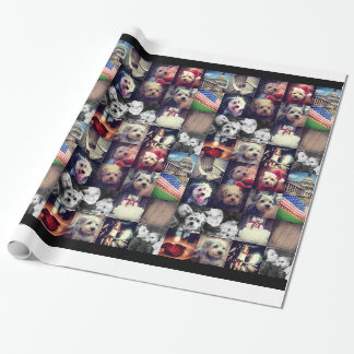 Instagram Photo Collage - 16 of your favorite pics Wrapping Paper
