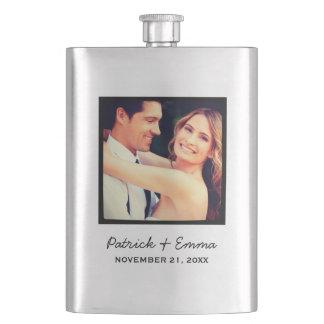 Instagram Photo Personalized Wedding Keepsake Flask