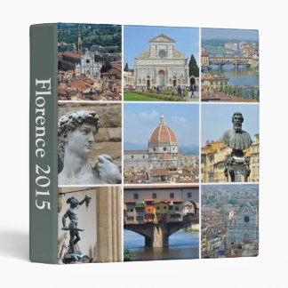 Instagram style travel photo vinyl binder