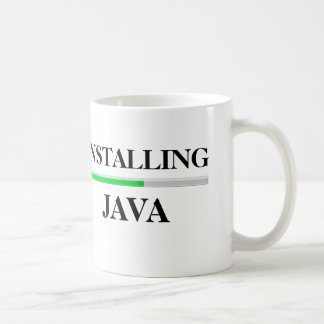 Installing Java Coffee Mug