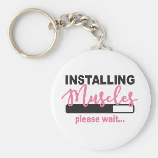 Installing Muscles Please Wait Keychain