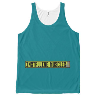 Installing muscles workout Zh1sq All-Over-Print Tank Top