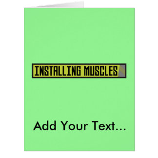 Installing muscles workout Zh1sq Card
