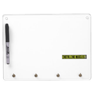 Installing muscles workout Zh1sq Dry Erase Board With Keychain Holder