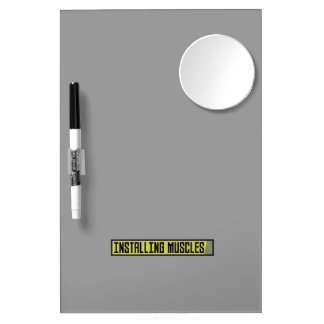 Installing muscles workout Zh1sq Dry Erase Board With Mirror