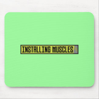 Installing muscles workout Zh1sq Mouse Pad