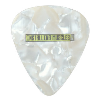 Installing muscles workout Zh1sq Pearl Celluloid Guitar Pick