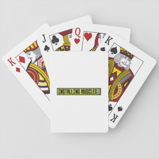 Installing muscles workout Zh1sq Playing Cards
