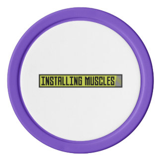 Installing muscles workout Zh1sq Poker Chips