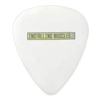 Installing muscles workout Zh1sq Polycarbonate Guitar Pick