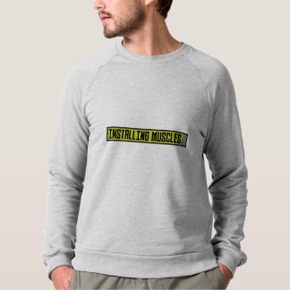 Installing muscles workout Zh1sq Sweatshirt