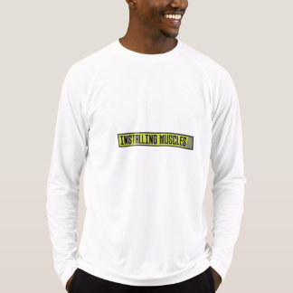 Installing muscles workout Zh1sq T-Shirt