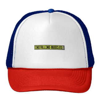 Installing muscles workout Zh1sq Trucker Hat