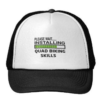 Installing Quad Biking Skills Hats