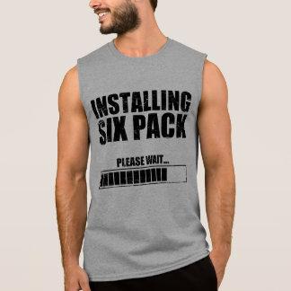 Installing Six Pack Sleeveless Shirt