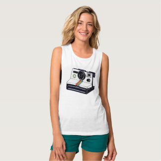 Instant Camera Muscle Tank