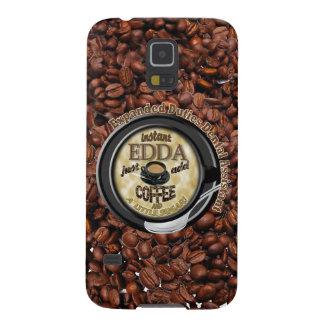 INSTANT EDDA ADD COFFEE GALAXY S5 CASES