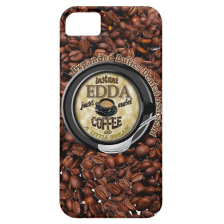 INSTANT EDDA ADD COFFEE iPhone 5 COVER