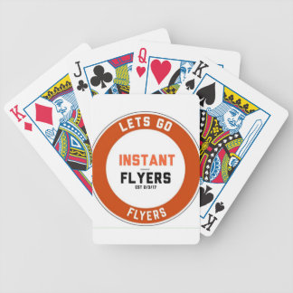 Instant_Flyers Bicycle Playing Cards
