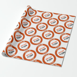 Instant_Flyers Wrapping Paper