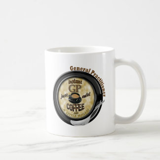 INSTANT GP ADD COFFEE GENERAL PRACTITIONER DOCTOR COFFEE MUG