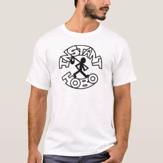 Instant Hobo_Hobo Man_Logo_ T-Shirt