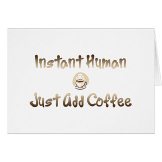 Instant Human Card