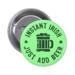 Instant Irish 2 Inch Round Button
