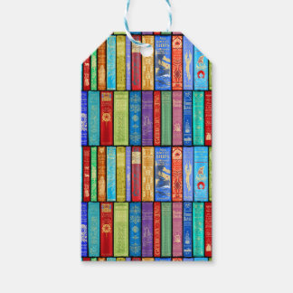 Instant Library ~ Story Time ~Light and Bright Gift Tags