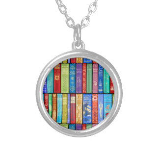 Instant Library ~ Story Time ~Light and Bright Silver Plated Necklace