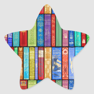 Instant Library ~ Story Time ~Light and Bright Star Sticker
