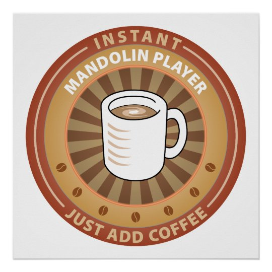 Instant Mandolin Player Poster