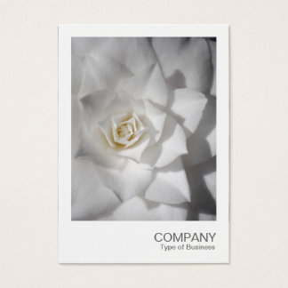 Instant Photo 088 - White Camellia Business Card