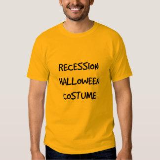 Instant Recession Costume Tees