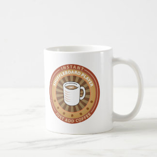Instant Shuffleboard Player Coffee Mug