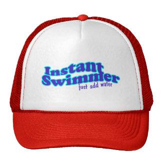 Instant Swimmer Cap Trucker Hat