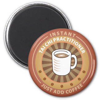 Instant Tai Chi Practitioner 2 Inch Round Magnet